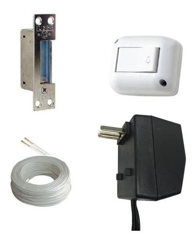 Cerradura Electrica Pestillo Control Acceso Abre Puerta Ji