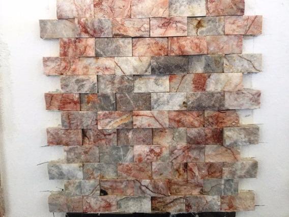 Malla En Piedra Tronchada En Marmol Ideal Para Fachadas M2