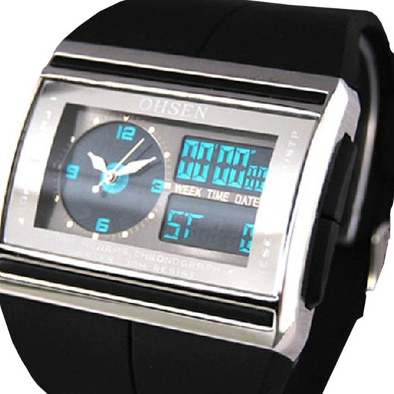Relogio Masculino Pulso Ohsen Watch Digital Led Promoção