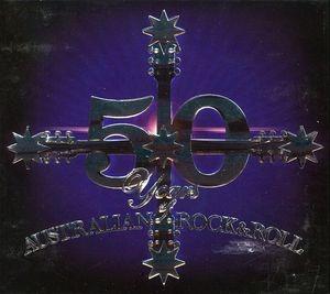 Cd Various Artists 50 Years Of Australian Rock N Roll / Var