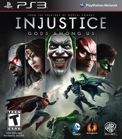 Injustice Gods Among Us Ps3 Psn Jogo