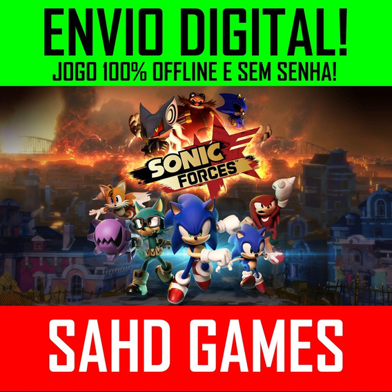 Sonic Forces Pc +1 Jogo