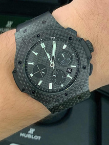 Hublot Big Bang Fibra De Carbono 44mm , Ano 2018 , Completo!