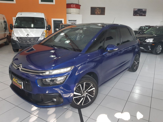 Citroen C4 Picasso Seduction 2018 Azul 1.6 Thp 5 Lug Ud 31km