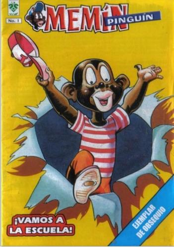 Imagen 1 de 1 de Memin Pinguin, Coleccion Completa Digital. 1 A La 442
