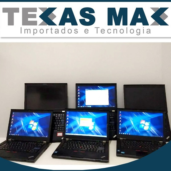 Lote 3 Notebook Lenovo T420 Adap.displayp.valor Unitário