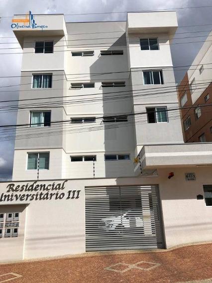 Apartamento Com 2 Dormitórios À Venda, 55 M² Por R$ 180.000 - Cidade Universitária - Anápolis/go - Ap0387