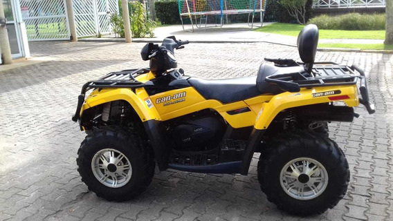 Quadriciclo Atv Brp Cam Am Outlander Max 400 4x4