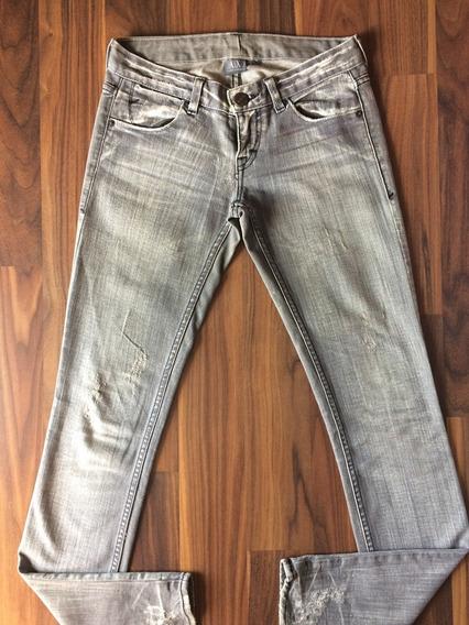 Calça Jeans Feminina Armani Exchange 36 Original Importada