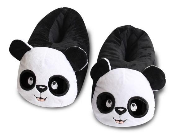 Babuchas Panda Alta Calidad Todas Las Tallas