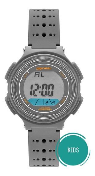 Relógio Mormaii Infantil Kids Mo0974a/8c Cinza Digital
