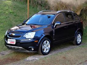 Chevrolet Captiva Sport Fwd 2.4 2014 Azul Gasolina