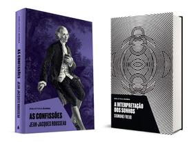 Livro A Interpretação Dos Sonhos + As Confissões - Capa Dura