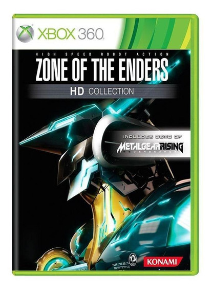 Zone Of The Enders Hd Collection Xbox 360 Mídia Física