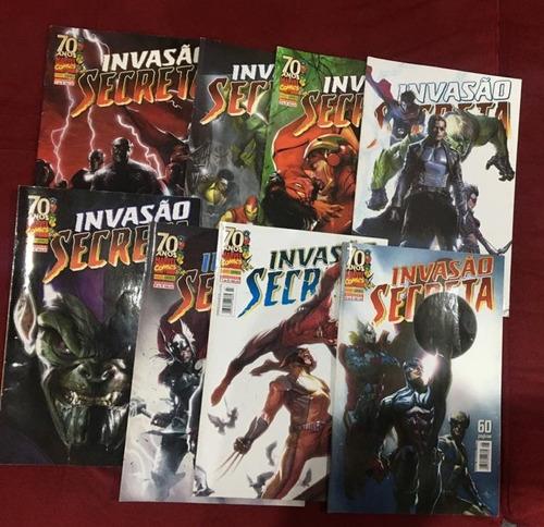 Invasao Secreta  (#1-8) - Completa