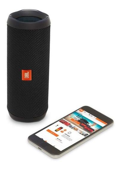 Caixa De Som Bluetooth Original Jbl Flip 4 Preto