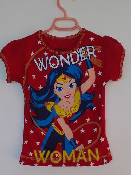 Camisa Súper Héroe Mujer Maravilla