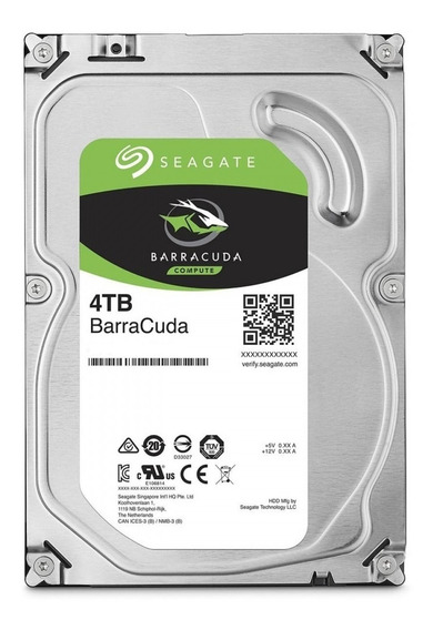 Hd 4tb Seagate Barracuda 4t 4000gb Sata 3 6gb/s