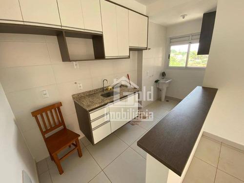 Apartamento Com 3 Dormitórios À Venda, 67 M² Por R$ 320.000 - Jardim Palma Travassos - Ribeirão Preto/sp - Ap4033