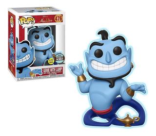 Funko Pop Disney Aladdin Genie With Lamp Gitd Specialty
