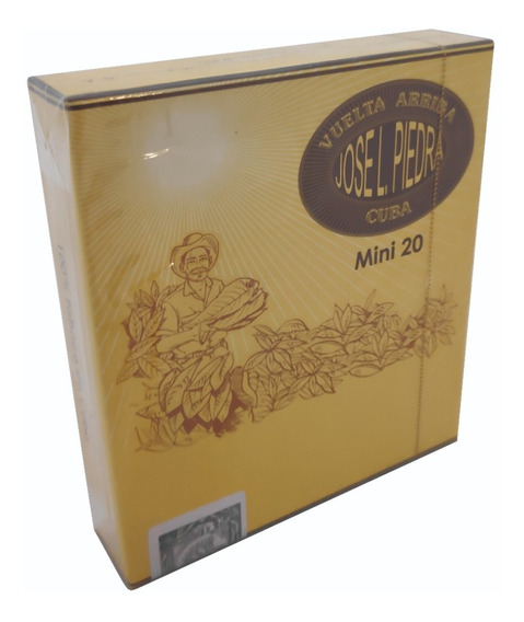 Cigarros Jose L Piedra Mini X 20 Cubanos Ideal P/ Regalo