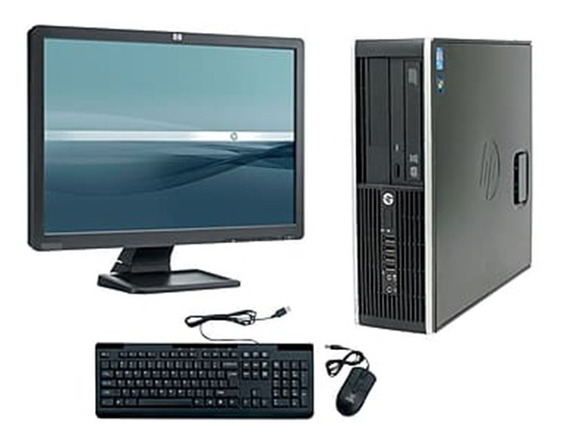 Cpu + Monitor Hp Compac Elite Core I7 4gb 500gb - Novo