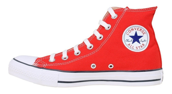 Converse All Star Hi Botitas Rojas Art.156998