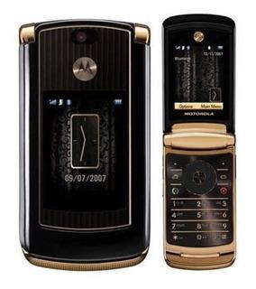 Celular Motorola Razr2 V8 Luxury Edition Oro Liberado Nuevo