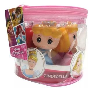 Set 5 Muñecos Princesas Disney Cabezon Tipo Funko Cuotas
