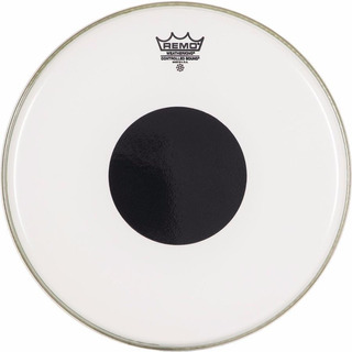 Parche Bateria Controlled Sound, Smooth White, 12 Remo Cs-