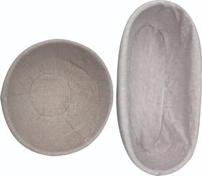 Banneton 2 Peças Para Crescimento De Pão Oval E Redondo