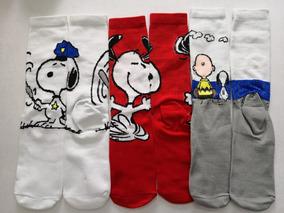 Calceta Larga Snoopy 3 Pares