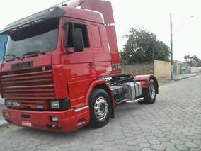 Scania 113 360 *trabalhando*