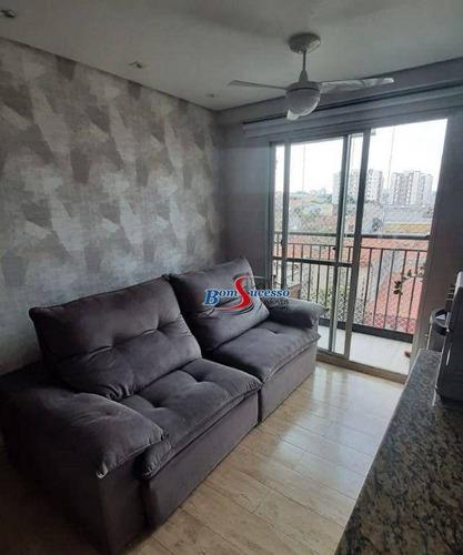 Imagem 1 de 22 de Apartamento Com 2 Dormitórios À Venda, 48 M² Por R$ 350.000,00 - Vila Ema - São Paulo/sp - Ap3225
