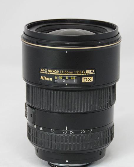 Nikon 17-55mm F/2.8 G Ed Dx Nítida Profissional