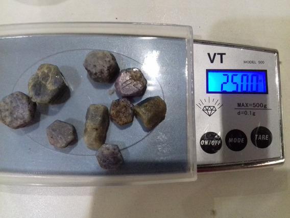 Safira Bruta Lote Com 250 Cts (50 Grs )