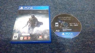 Shadow Of Mordor Completo Para Play Station 4,excelente Titu