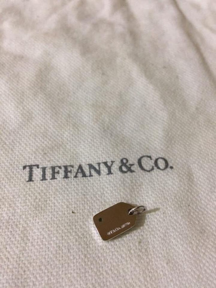 Dije Tiffany & Co Original En Oro 18k Con Ticket De Regalo
