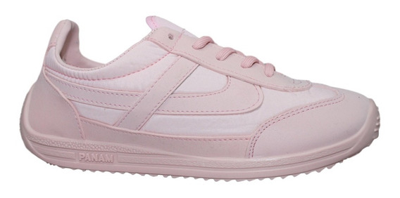 Tenis Panam Rosa Mujer Hombre 22 A 31