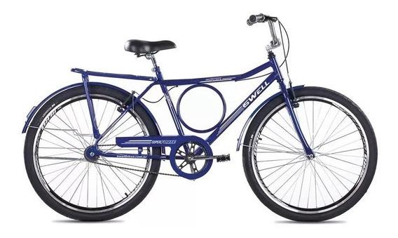 Bicicleta Swell Bikes Super Forte Preta Aro 26 - Azul