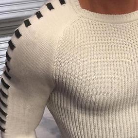 Suéter Para Los Hombres Jersey Con Estilo Informal
