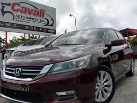 Honda Accord V6 Exl Rojo 2015