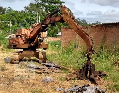 Escavadeira Case Pc80 -ano 1991-esteira C/ 70% De Vida Útil*