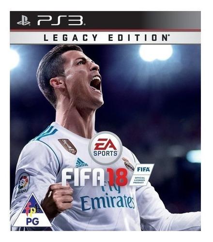 Imagen 1 de 3 de FIFA 18 Legacy Edition Electronic Arts PS3 Digital