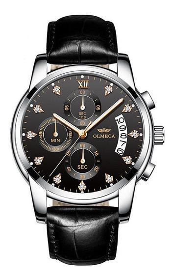 Relógio Casual Quartzo Diamante Olmeca 0827 - Tema 01 - 60