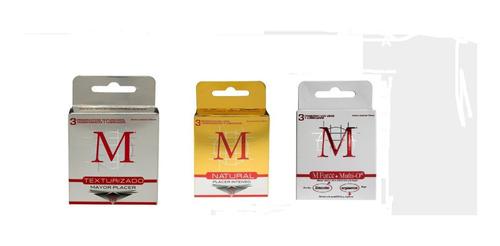 Preservativos M Surtidos Caja 10 Cajitas X 3