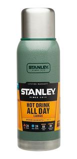 Termo Stanley 1l Adventure Original Verde Tapon Cebador Rex