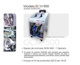 Gcm500 Porta Maquina Cromadora Agua, All Material + Kit10m2
