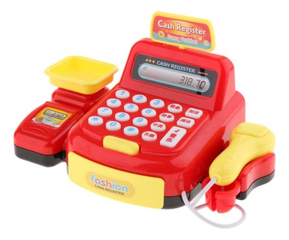 Finja E Jogue Calculadora Cash Register Com Play Money, Micr