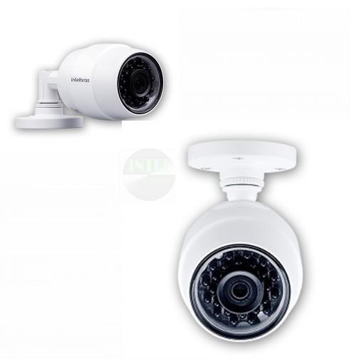 Kit 2 Camera De Segurança Wifi Hd Mibo Ic5 Externa Intelbras
